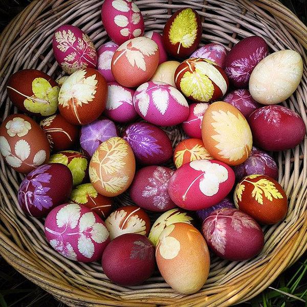 Як пофарбувати яйця на Великдень своїми руками: кращі способи