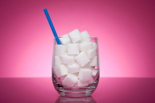 Скільки грам цукру в склянці (гранчастій, 250 мл): таблиця