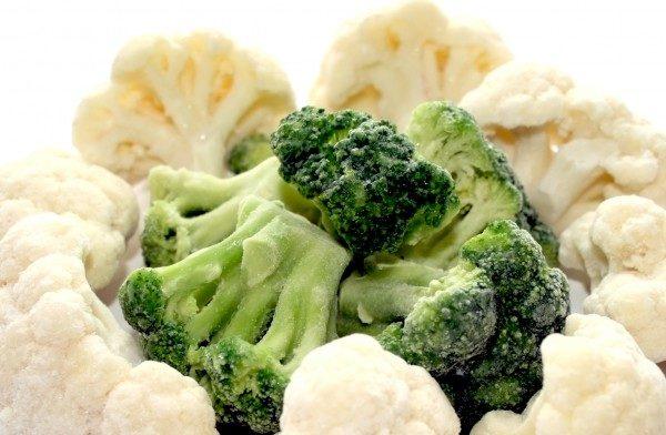 Цвітна капуста і брокколі: заморожування на зиму, рецепти страв