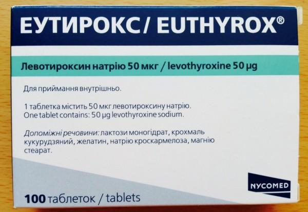 Эутирокс для схуднення: інструкція із застосування, відгуки