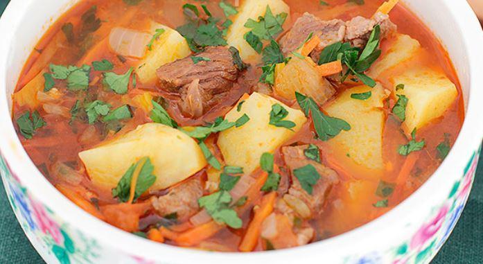 Кавказька кухня: рецепти перших та других страв з фото