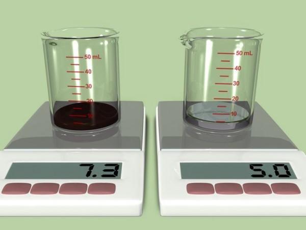 Скільки грам в мілілітрі: таблиця вимірювання ваги