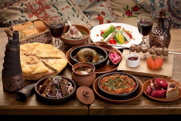 Грузинська кухня рецепти страв покроково з фото