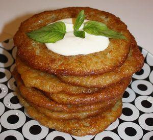 Рецепти приготування дерунів з картоплі, кабачків з фото