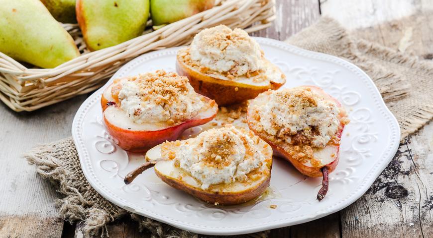Десерт із груш (з сиром, карамеллю) - рецепти з фото