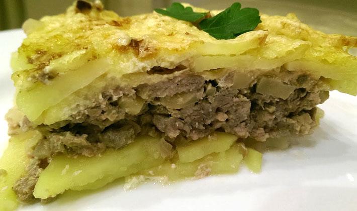 Картопля, запечена з фаршем в духовці: рецепти з фото