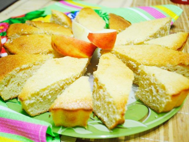 Пиріг маннік на кефірі: простий рецепт, без яєць, для дітей