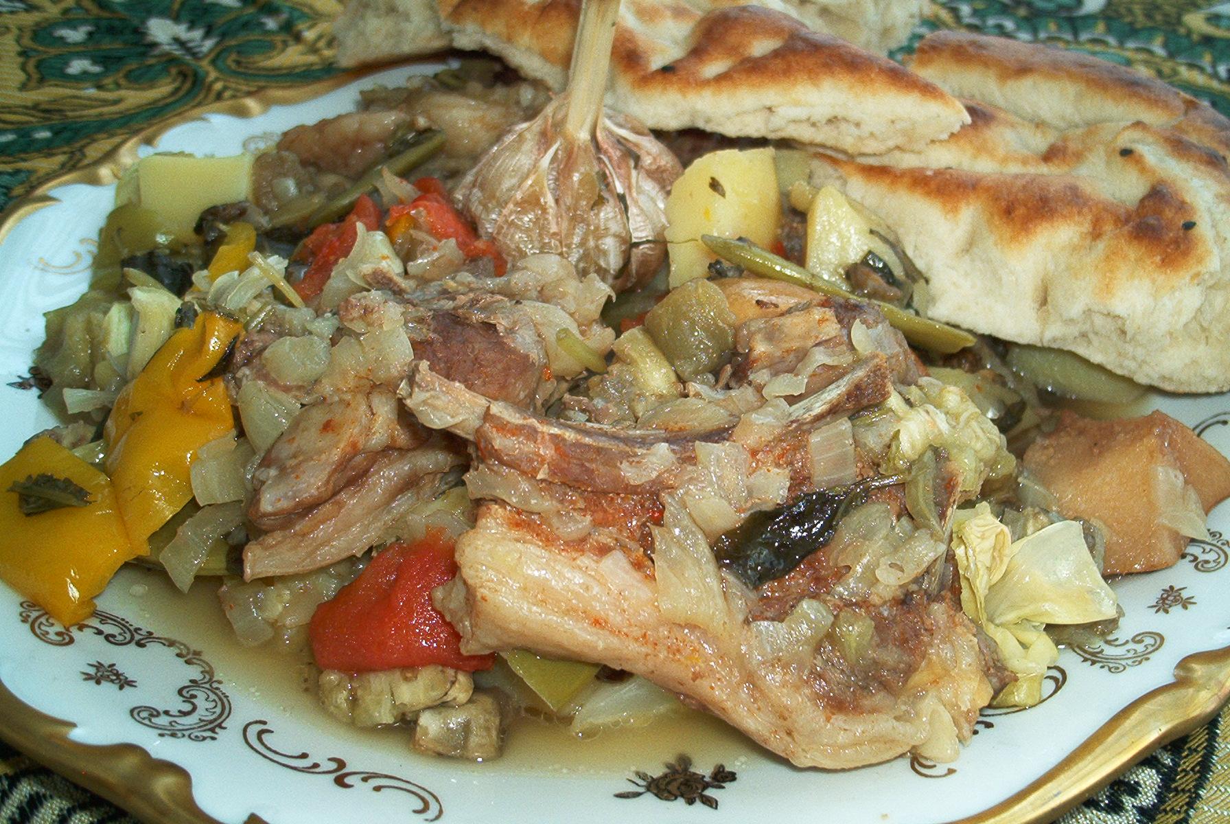 Буглама з баранини азербайджанською, грузинський рецепт