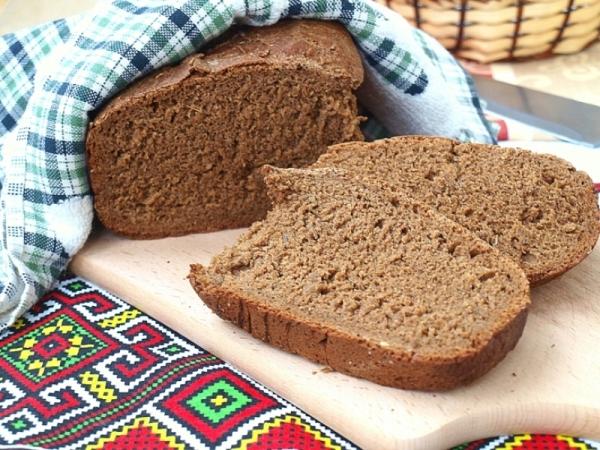 Бородінський хліб в хлібопічці: рецепти несолодкої випічки
