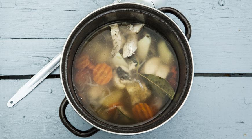 Юшка з йоржів: простий покроковий рецепт з фото, калорійність