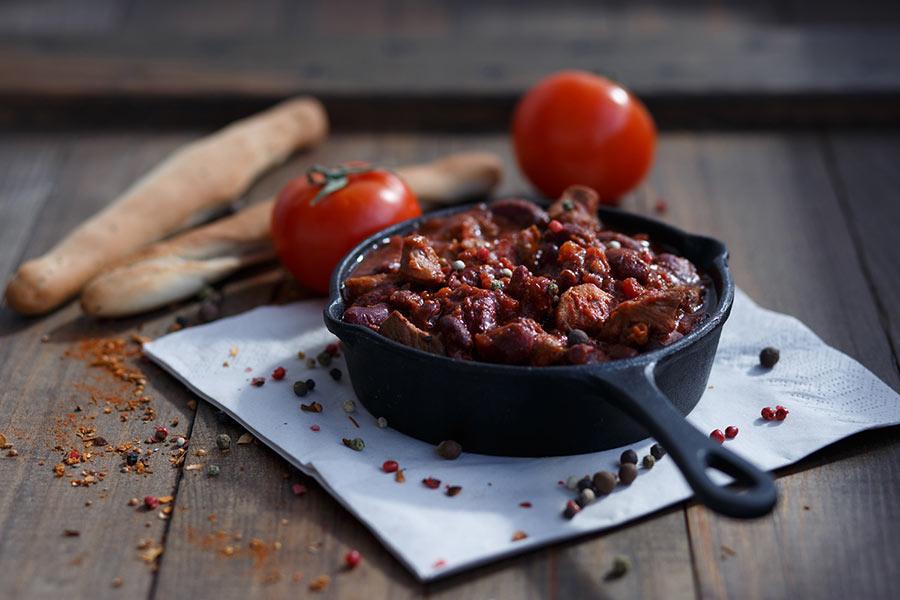 М'ясо по-мексиканськи (з квасолею, ананасом): рецепти з фото