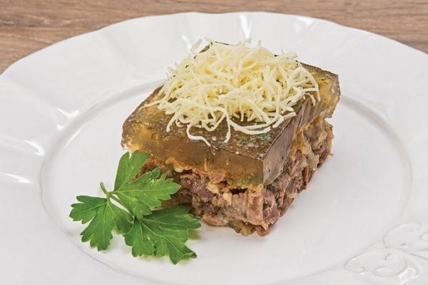 Заливне з яловичини з желатином: покрокові рецепти з фото