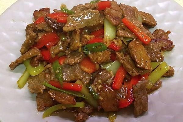 Яловичина з перцем болгарським: прості рецепти покроково, фото