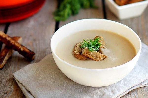 Крем-суп з грибів (свіжих і сушених): покрокові рецепти