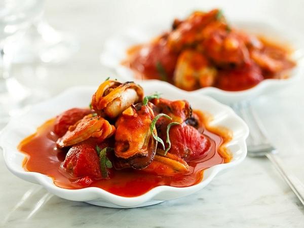 Мідії в томатному соусі: покрокові рецепти з фото