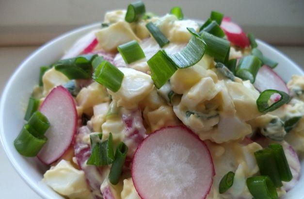 Салат з вареною картоплею, солоними огірками: рецепти з фото