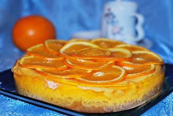 Пиріг з апельсинами в мультиварці: прості рецепти з фото