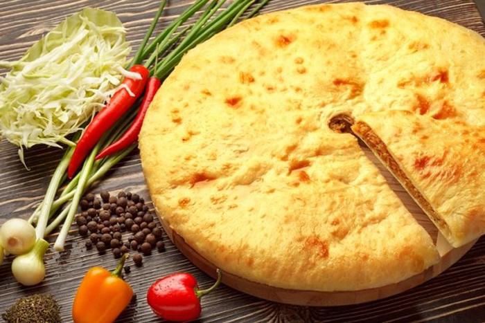 Осетинський пиріг з капустою - покроковий рецепт з фото