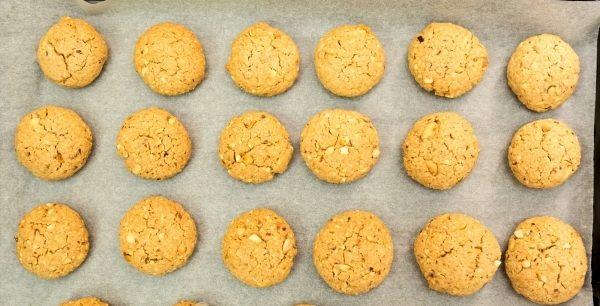 Печиво з арахісом (пісочне, вівсяне) - рецепти з фото