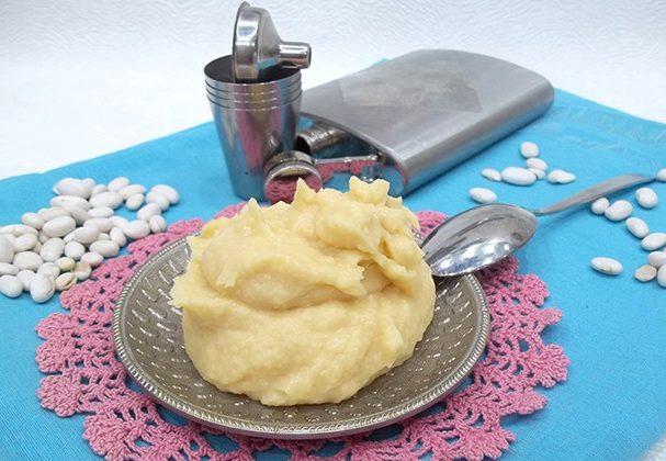 Пюре з квасолі (з смаженою цибулею, з яйцем): рецепти з фото