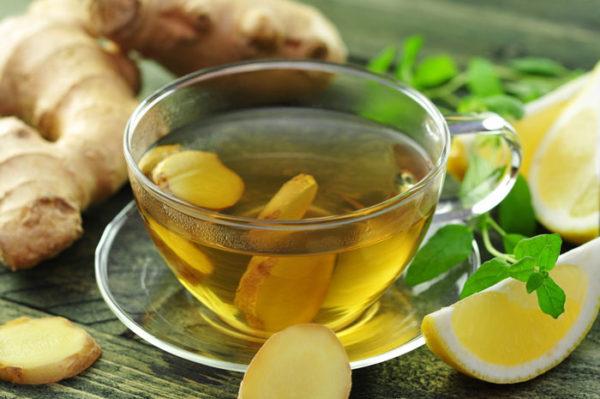 Імбирний чай з лимоном: користь, кращі рецепти для схуднення