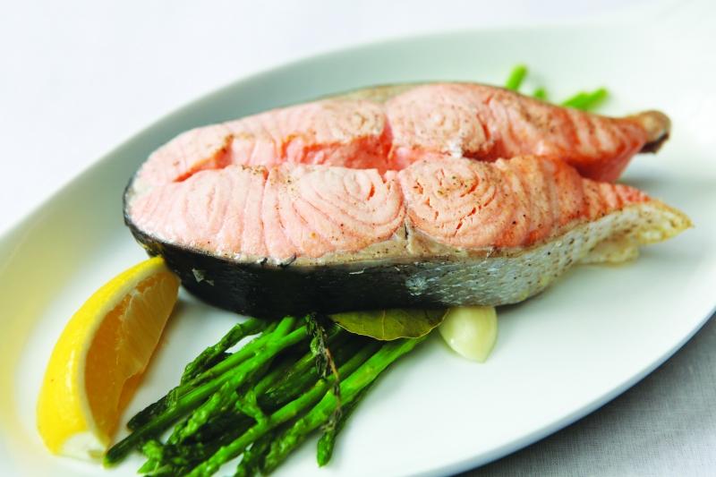 Сьомга на пару - калорійність риби на 100 грам, рецепти