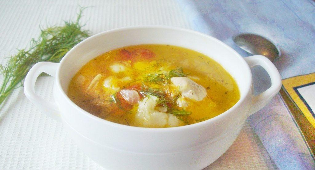 Суп з куркою і капустою: покрокові рецепти, калорійність