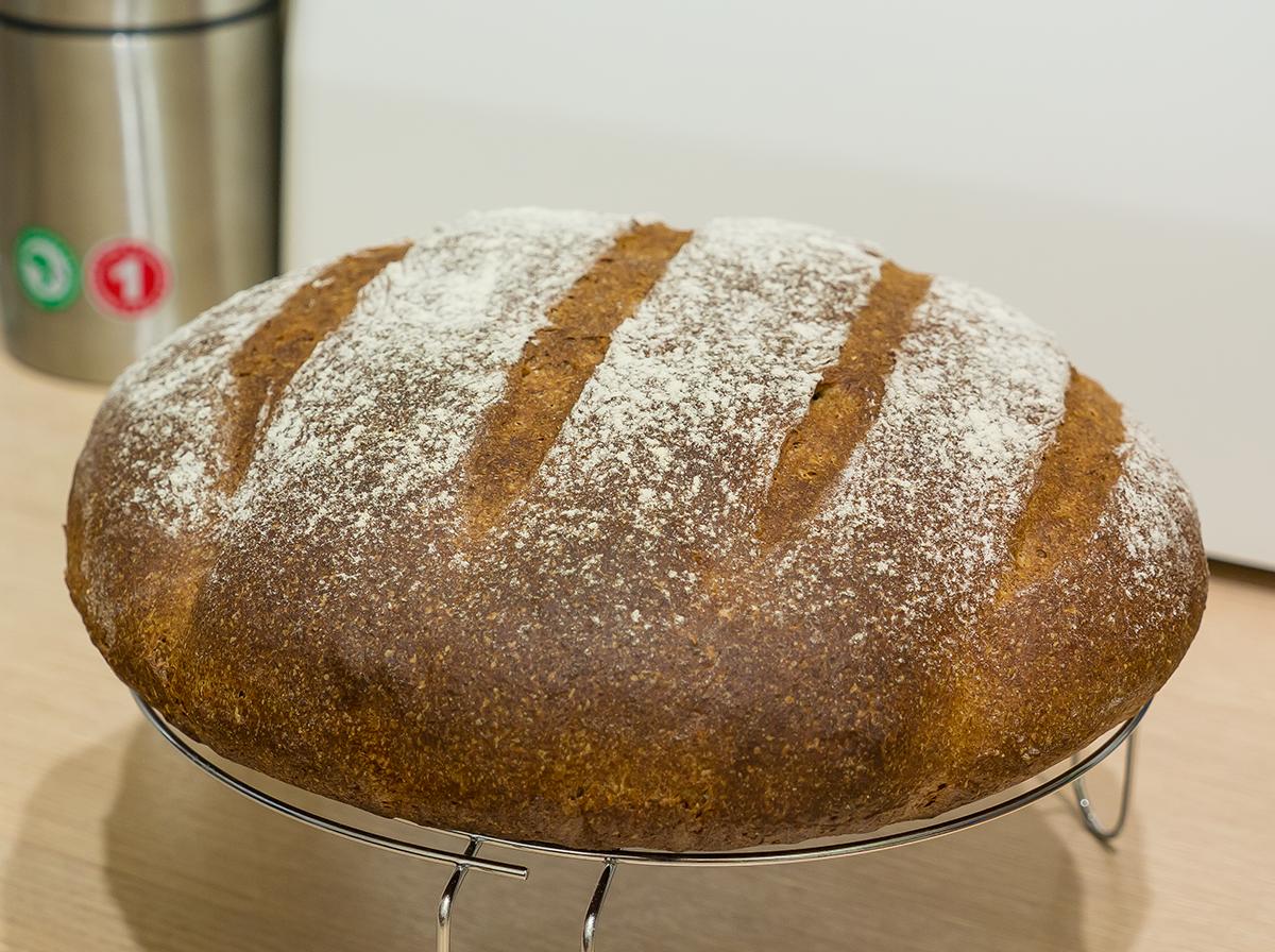 Житній хліб в мультиварці (на заквасці, без дріжджів): рецепти