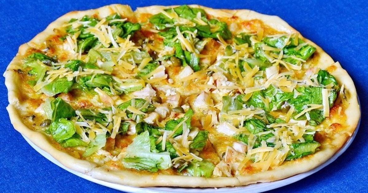 Піца з кабачків (овочева, з куркою) - рецепти з фото