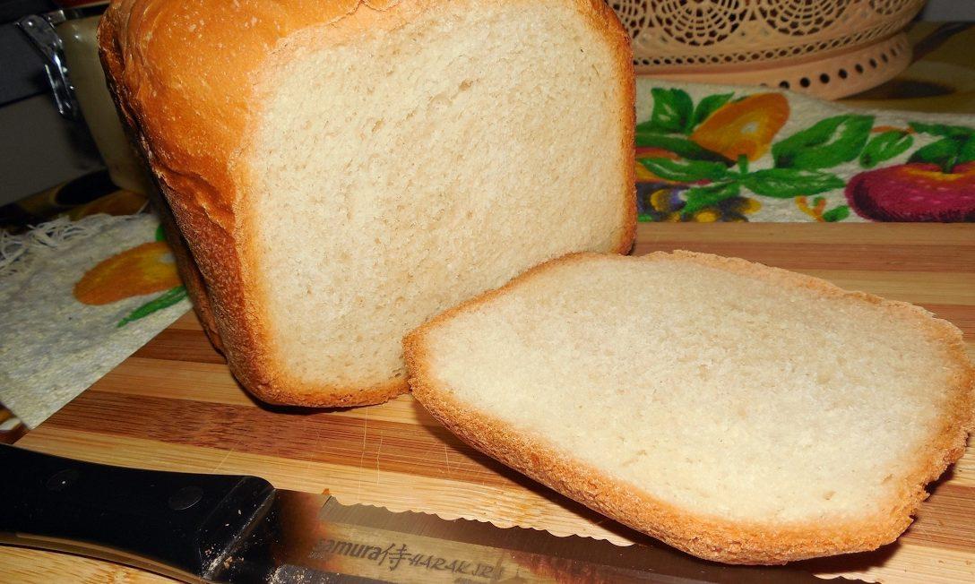 Білий хліб в хлібопічці (класичний, на кефірі): рецепти