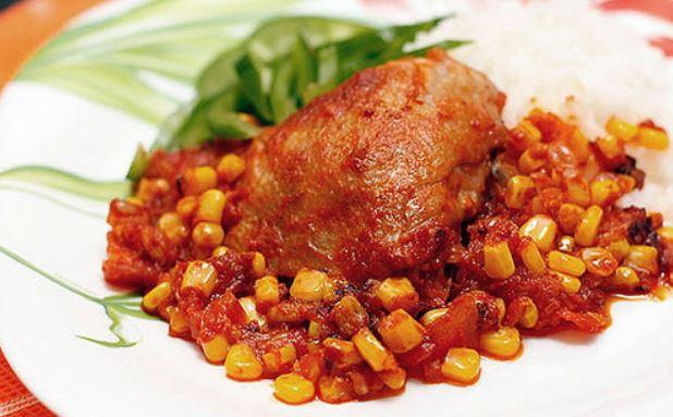 Курка по-мексиканськи (з овочами, в лаваші): рецепти з фото