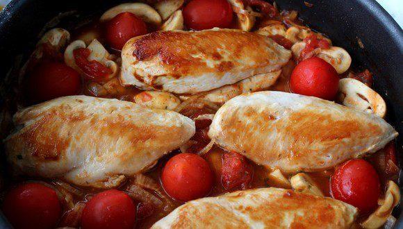 Курка по-італійськи (Каччиаторе, суп, салат): рецепти з фото