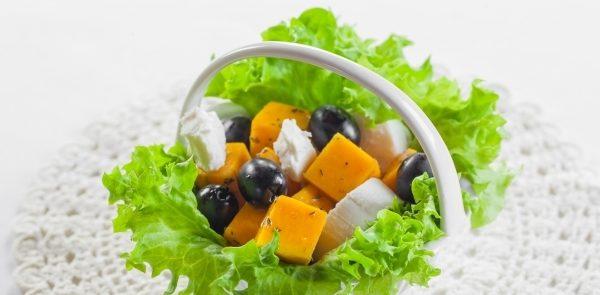 Салат з гарбуза швидко і смачно: прості рецепти, на зиму
