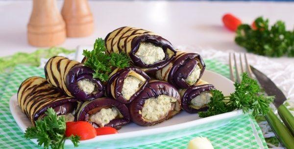 Баклажани з горіхами по-грузинськи: рецепти з фото покроково