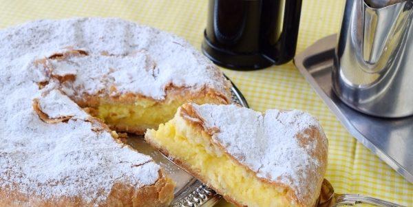 Єгипетський пиріг із заварним кремом: покроковий рецепт з фото