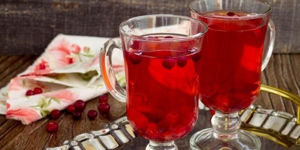 Компот із журавлини (свіжої, замороженої): рецепти з фото