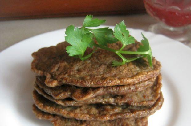 Млинці з курячої печінки, яловичої: рецепти з покроковим фото