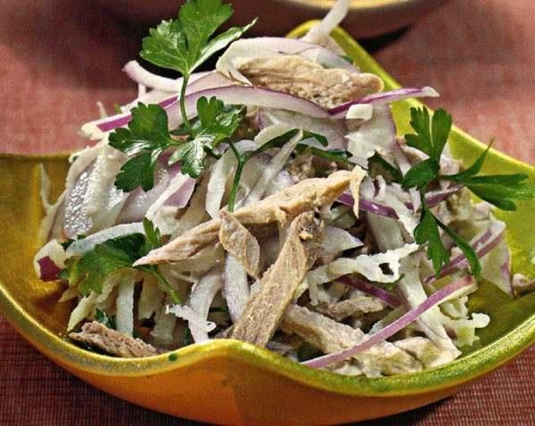 Салат з дайкона: рецепти приготування з фото, калорійність