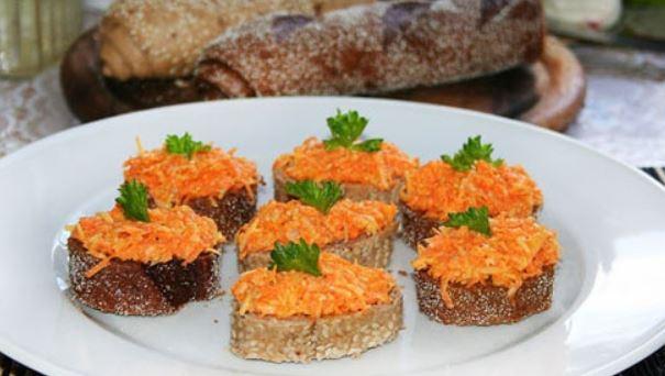 Пісні бутерброди (холодні, гарячі) - рецепти з фото