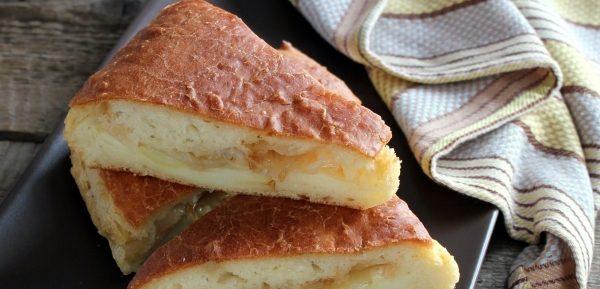 Пісний пиріг з картоплею - кілька домашніх рецептів
