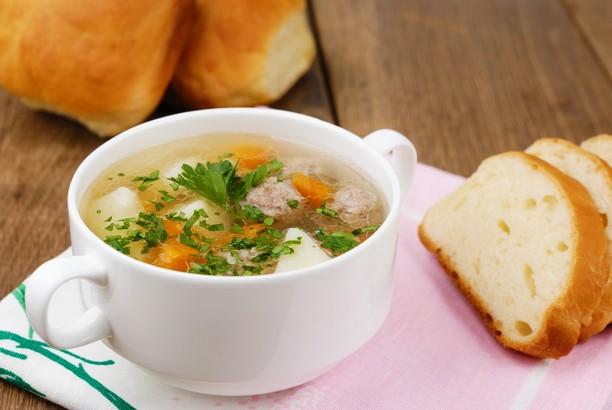 Суп з фрикадельками і вермішеллю - домашні рецепти покроково