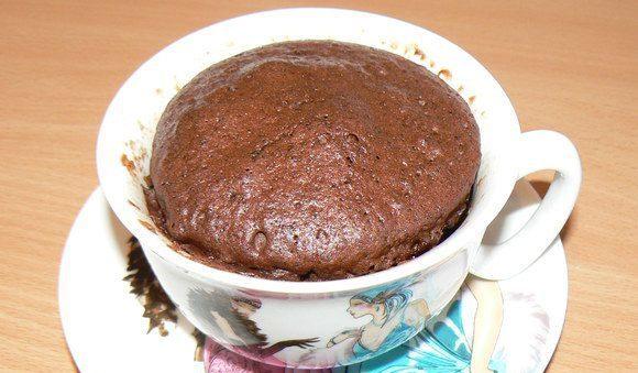 Кекс в мікрохвильовці за 3 хвилини - рецепти, фото, поради