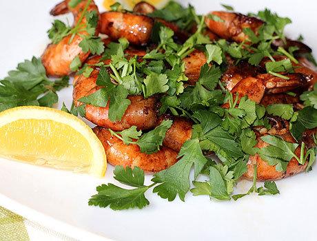 Креветки, смажені в соєвому соусі - рецепти з фото покроково