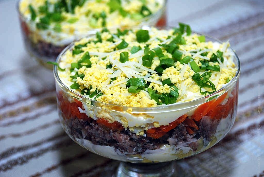 Салат з консервованої сардини: простий рецепт, з рисом