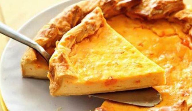 Пиріг з листкового тіста з сиром: покрокові рецепти з фото