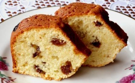 Сирний кекс з ізюмом (простий, великодній): рецепти з фото