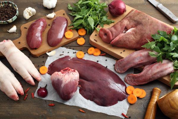 Субпродукти м'ясні - що це таке, їх калорійність, рецепти