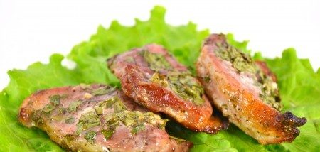 Стейк зі свинини в духовці: рецепти з фото, калорійність