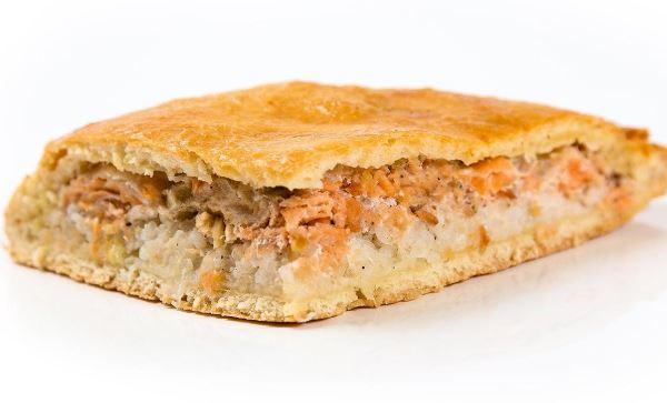 Пиріг з рибою і рисом (заливний, відкритий): рецепти з фото