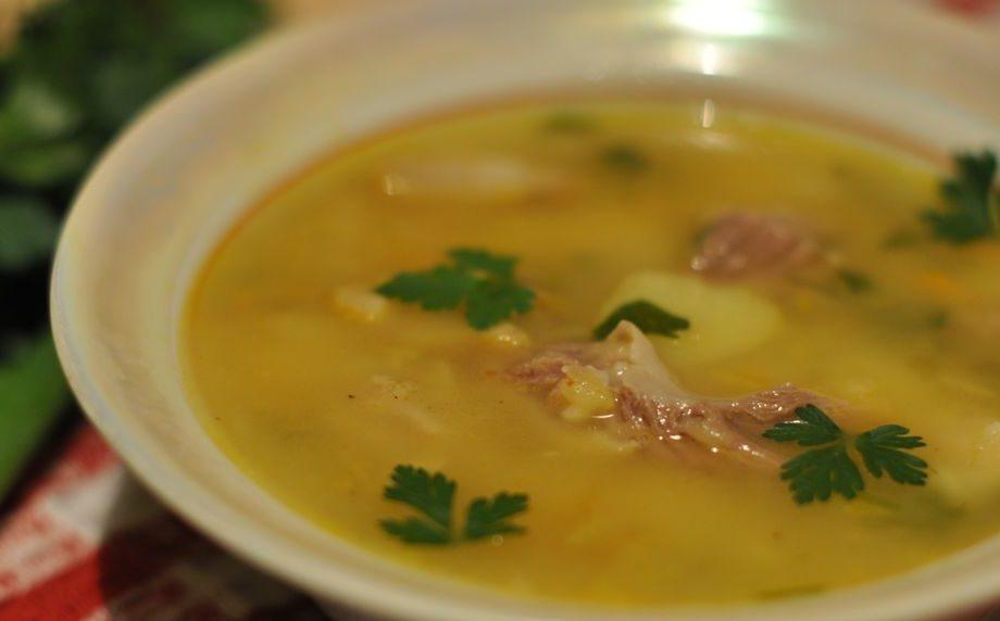 Гороховий суп з яловичиною: покрокові рецепти, калорійність